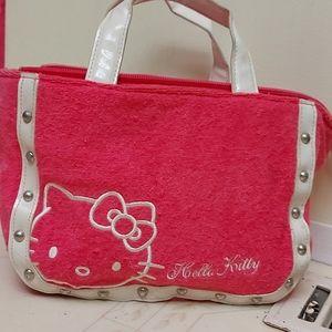 Hello Kitty Terry cloth bag